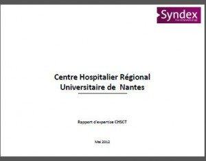 rapport syndex CHSCT CHU
